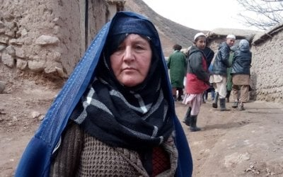Concern Community Development Facilitator Taza Gul, Chaab district, province of Takhar, Afghanistan. Photo: Rosaleen Martin / Concern Worldwide.