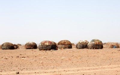 North eastern Kenya in the ferociously hot Chalbi desert. Photo: Jennifer Nolan
