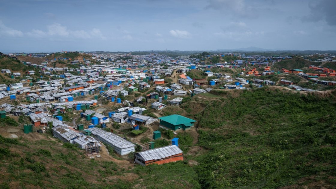 Cox's Bazar Refugee Camp, Bangladesh is the largest displacement camp in the world. Photo: Abir Abdullah/ Concern Worldwide