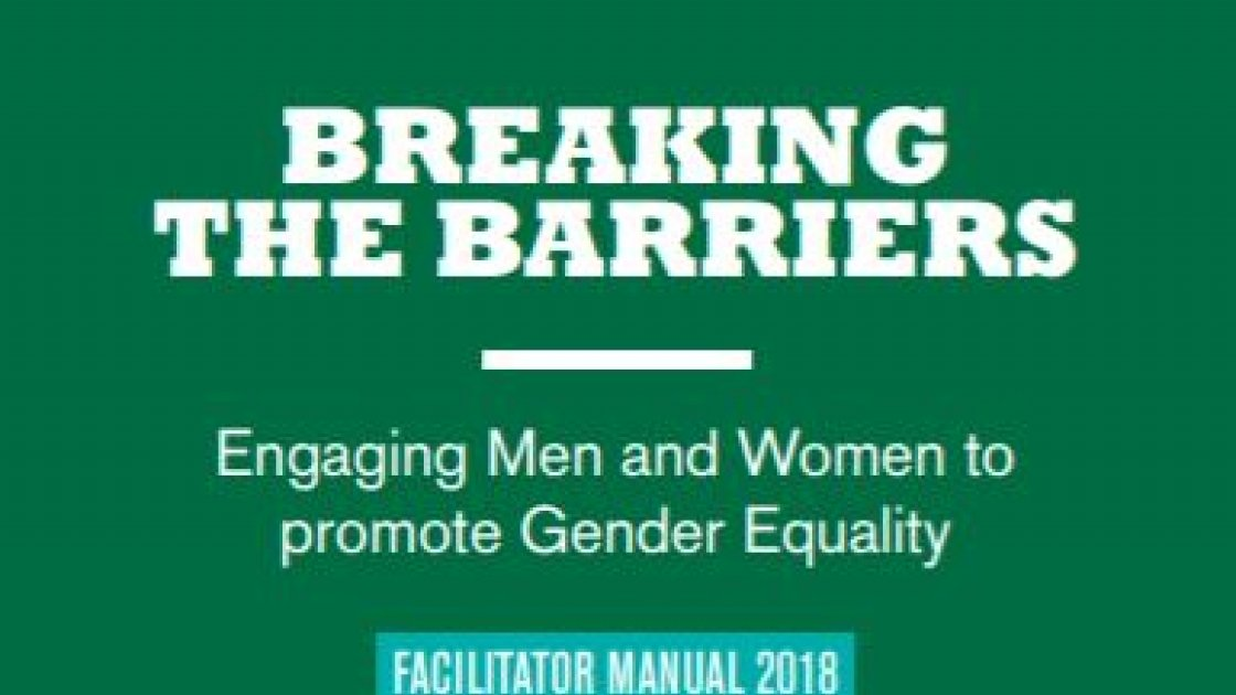 Breaking the Barriers Facilitator's Manual 2018
