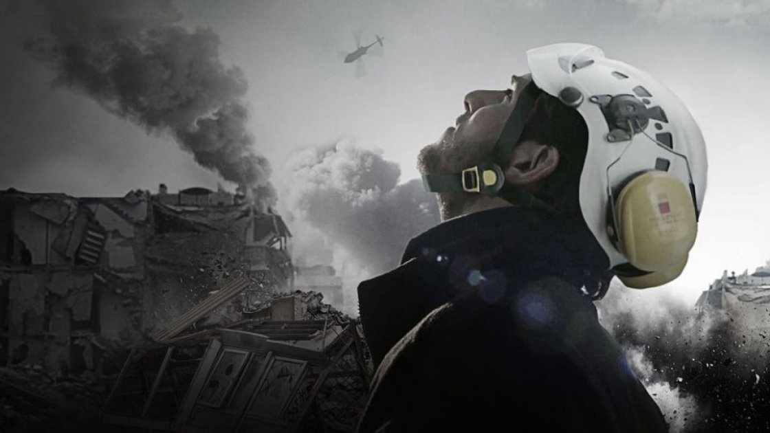 White Helmets, directed by Orlando von Einsiedel. Photo credit: indiewire.com