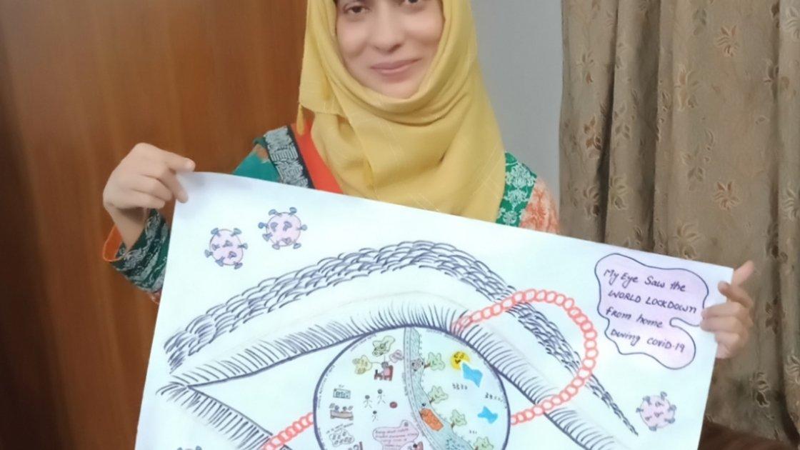 Artist: Nadia, Pakistan