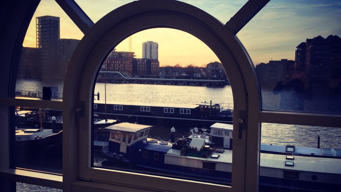 Views from our office near Clapham Junction, London.
