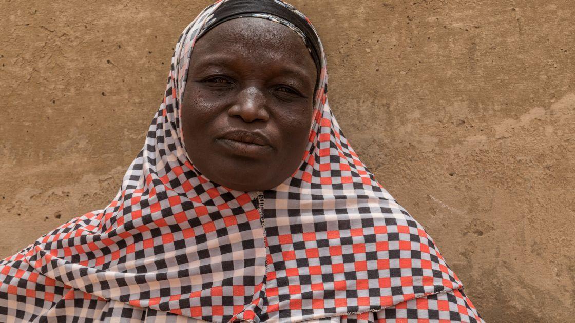 Chawada Aboubacar is a Community Health Volunteer. Photo: Apsatou Bagaya / Concern Worldwide.