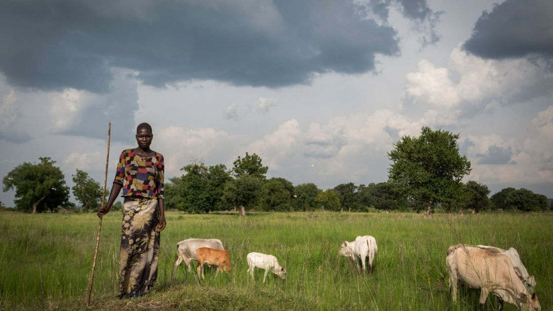 Nancy Baako has spent almost all her life in a refugee settlement in Uganda. Alexia Webster/Panos Pictures for Concern Worldwide/Uganda/2015