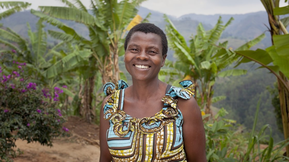 Community Health Worker Jeannette Icimanishatse (52), Bukinanyana, Cibitoke, Burundi