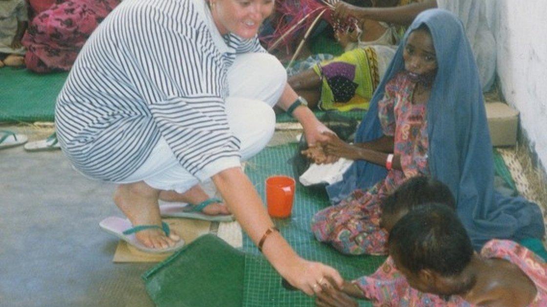 Valerie Place in Somalia
