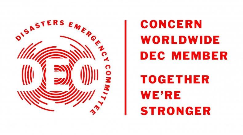 DEC - Concern Worldwide joint logo