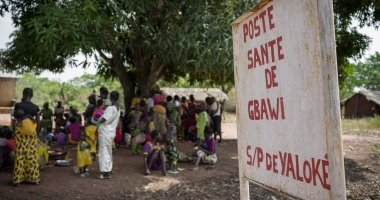 Health clinic in the Central African Republic, 2019. Photo: Darren Vaughan / Chris de Bode