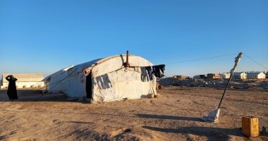 An informal settlement in Syria, home to over 1,000 internally displaced persons.