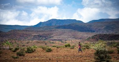 The landscape of Turkana, Kenya
