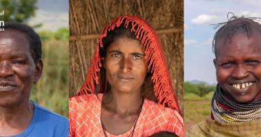 Rhoda Pumbulani, Subbi and Ngikario for Women of Concern.