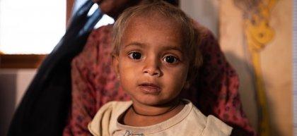 15-month-old Zainab. Photo: Khaula Jamil / Pakistan (2020)