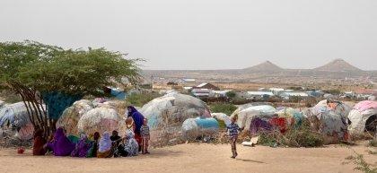 M. Mooge IDP campe near the Hargeisa Airport.  Photo: Gavin Douglas/Concern Worldwide