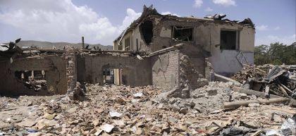 Scenes of destruction in Afghanistan. Photo: Jawad Jalali / EPA / Shutterstock