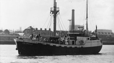 The Columcille which departed Dublin to deliver aid to Biafra in September 1968. Photo: Concern Worldwide.