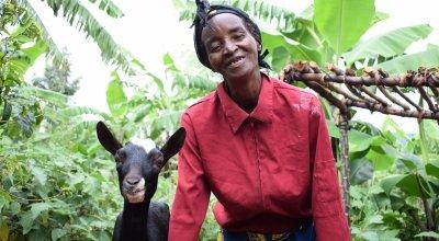 Isabelle Mundana, Burundi. Photo: Darren Vaughan/Concern Worldwide