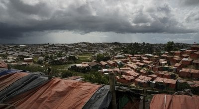 Cox's Bazar, home to over 900,000 Rohingya refugees. Photo: Abir Abdullah / Concern Worldwide.