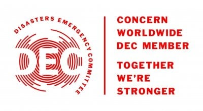 DEC - Concern Worldwide joint logo