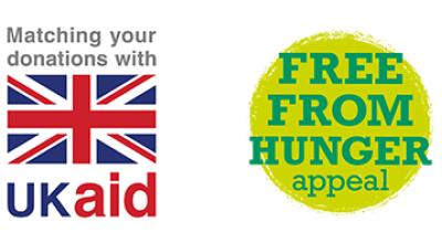 Free From Hunger appeal and UK Aid Match