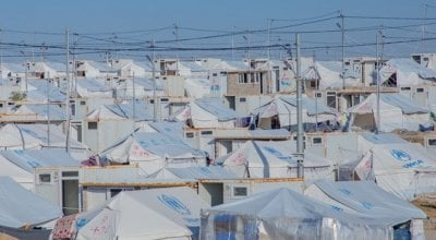 A refugee camp in north-west Iraq.Photo: Gavin Douglas/Concern Worldwide.