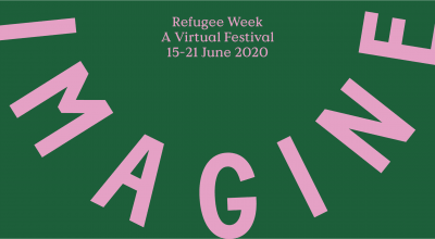 Refugee Week promotional banner