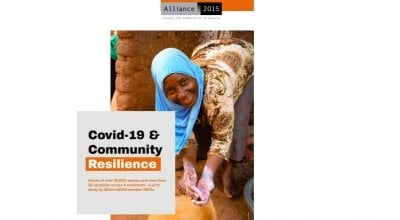 Alliance2015 multi-country research: COVID-19 impacts on community resilience in the Global South report cover