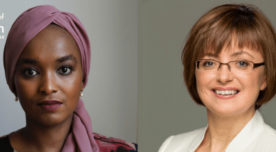 Amina Abdulla and Cathriona Hallahan for Women of Concern.