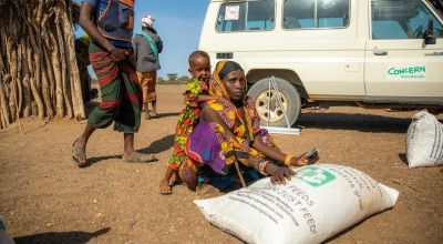 Jaro Dubais a Concern programme participant in North Horr, Kenya. Photo: Ed Ram
