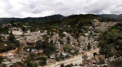 A general view of Port-au-Prince, Haiti, 2011. Photo: Niall Carson / PA Wire.