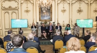 Panel at Concern's 50th anniversary event.