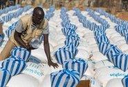 A monthly food distribution in Juba. Photo: Steve De Neef/Concern Worldwide