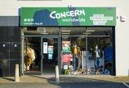 Concern shop on Antrim Road, Belfast.