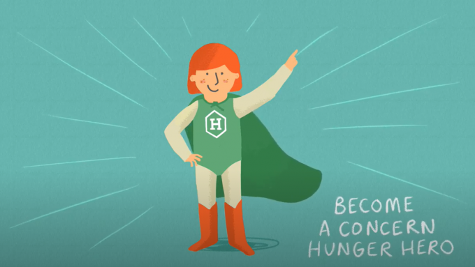 Become a Hunger Hero