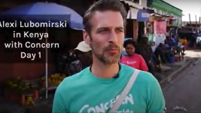 Fashion photographer Alexi Lubomirski visits Concern Kenya_placeholder
